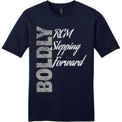 BOLDLY-RCM-Stepping-Forward--2 Men's 100% Cotton T-Shirts District Threads DT6000