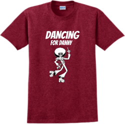 Dancing-for-Danny SA Adult 100% Cotton T-Shirts Gildan 2000