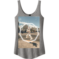 Mine Easter Junior's 100% Cotton Tank Tops District Threads DT2500