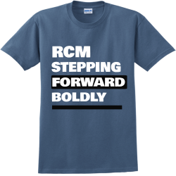 RCM-STEPPING--FORWARD-BOLDLY--3 SA Adult 100% Cotton T-Shirts Gildan 2000