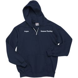 Simmons-Plumbing-Angus Men's 100% Cotton Hoodies Hanes F283