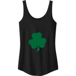 St-Pats-Day Easter Junior's 100% Cotton Tank Tops District Threads DT2500