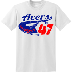 ACERS--47 YELLOW JACKETS YOUR BTW 20 23  CLASS OF Men's 50/50 Cotton/Polyester T-Shirts Gildan 8000