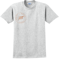 fox G Adult 100% Cotton T-Shirts Gildan 2000