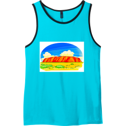 Create OUTERLIMIT   outerlimit2018 Mens 100% Cotton Tank Tops District Threads DT1500
