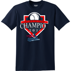 FALL-NEW-10U-LEAGUE-CHAMPIONS-2019 Royal Controls  Process Services LLC Men's 50/50 Cotton/Polyester T-Shirts Gildan 8000