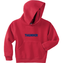 Thunder Thunder Boy's 50/50 Cotton/Polyester Hoodies Jerzees 996Y