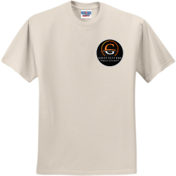 genesis-stone Create Men's 50/50 Cotton/Polyester T-Shirts Jerzees 29M
