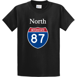 North Main logo tee Men's 100% Cotton T-Shirts PC61