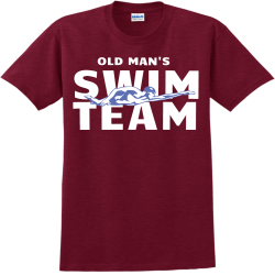 SWIM-TEAM--OLD-MANS Family vacay Adult 100% Cotton T-Shirts Gildan 2000