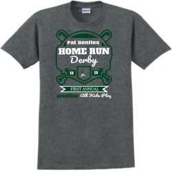 Pat-Benites-home-run-derby Brooke  SWIMMING Kevin Adult 100% Cotton T-Shirts Gildan 2000