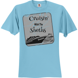 Sheths-With-The-Cruisin--Dream Create Unisex 100% Cotton T-Shirts Fruit Of The Loom 3930