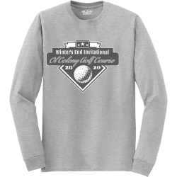 Winters-End-Invitational--20-20--Ol-Colony-Golf-Course Mine Unisex 50/50 Cotton/Polyester Long Sleeves Gildan 8400