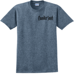 Chandler fox Adult 100% Cotton T-Shirts Gildan 2000