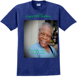 Happy-90th-Birthday--Princella-Henry-May-27-1930 Create Adult 100% Cotton T-Shirts Gildan 2000