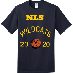NLS--20-20-WILDCATS Create Adult 100% Cotton T-Shirts Port And Company PC150