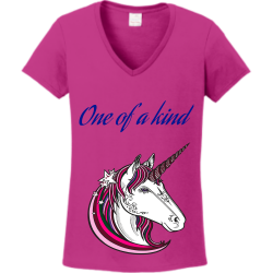 One-of-a-kind One of a kind Women's 100% Cotton T-Shirts Gildan 5V00L