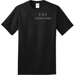 S--S-Collision-Center Create Adult 100% Cotton T-Shirts Port And Company PC150