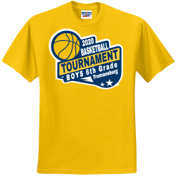 2020-BASKETBALL-TOURNAMENT-BOYS-6th-Grade-Trumansburg Solidarity For Women  and Girls Mongeri Men's 50/50 Cotton/Polyester T-Shirts Jerzees 29M