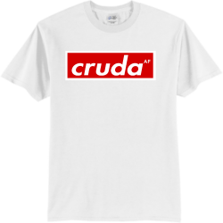 Cruda Wood vibes Adult 100% Cotton T-Shirts Port And Company PC55