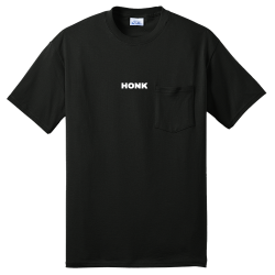 HONK Mens 50/50 Cotton/Poly T-Shirts Port And Company PC55PT
