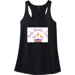 Holy-Hands-Inc. Holy Hands Inc. Women's 50/50 Cotton/Poly Tank Tops District Threads DM420