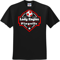 PLAYOFFS-Lady-Eagles-2020 Solidarity For Women  and Girls Mongeri Men's 50/50 Cotton/Polyester T-Shirts Jerzees 29M