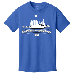 Roadrunnin'-Through-the-Canyon--7th-annual-2020 Roadrunnin' Through the Canyon  7th annual 2020 Boy's 100% Cotton T-Shirts Port And Company PC54Y
