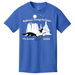 Roadrunnin'-Through-the-Canyon Roadrunnin' Through the Canyon  7th annual 2020 Boy's 100% Cotton T-Shirts Port And Company PC54Y