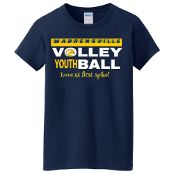 WARRENSVILLE-YOUTH-Love-at-first-spike I said what I said Women's 100% Cotton T-Shirts Gildan 5000L