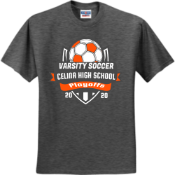 soccer Solidarity For Women  and Girls Mongeri Men's 50/50 Cotton/Polyester T-Shirts Jerzees 29M