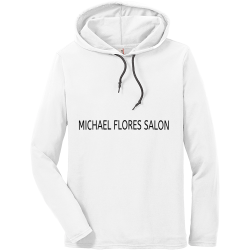 MICHAEL-FLORES-SALON Create Men's 100% Cotton Hoodies Anvil 987