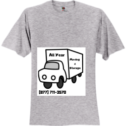 All-year-moving hey Unisex 100% Cotton T-Shirts Fruit Of The Loom 3930