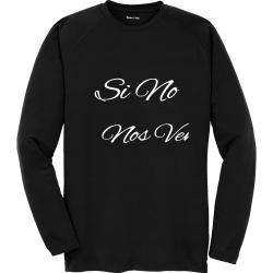 Candido--Si-No-Nos-Vemos-Me-Escribes--RIP-102919 Candido  Si No Nos Vemos Me Escribes  RIP 102919 Unisex 100% Polyester Long Sleeves Sport-Tek ST700LS