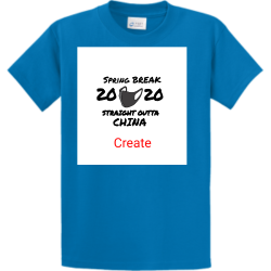 China Tshirt Contest Design Custom T-shirts