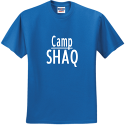 Camp-Shaq DRAMMIE 5.29.20 does 40 Men's 50/50 Cotton/Polyester T-Shirts Jerzees 29M