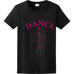 DANCE hayhay Women's 100% Cotton T-Shirts Gildan 2000L