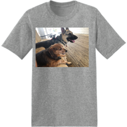 Dogs Boozy Men's 50/50 Cotton/Polyester T-Shirts Hanes 5170