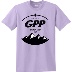 GPP Camp Shirt Men's 50/50 Cotton/Polyester T-Shirts Gildan 8000