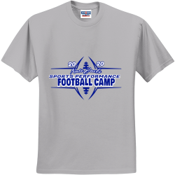 Nate-Jacks-Football-Camp DRAMMIE 5.29.20 does 40 Men's 50/50 Cotton/Polyester T-Shirts Jerzees 29M