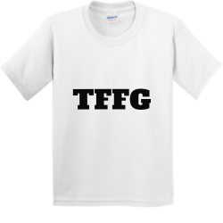 tffg Boy's 100% Cotton T-Shirts Gildan 5000B