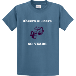 Cheers  Beers  50 YEARS